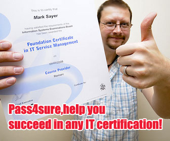 Pass4sure Exam Preparation tools