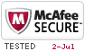 mcAfee Secure Website