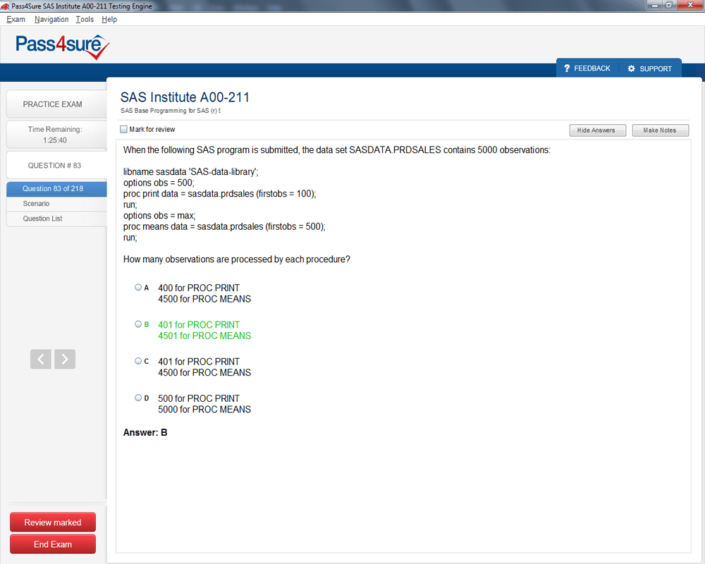 Pass sas certified base programmer for sas 9 exam sas institute a00 211 sample 5 1betcityfo Images